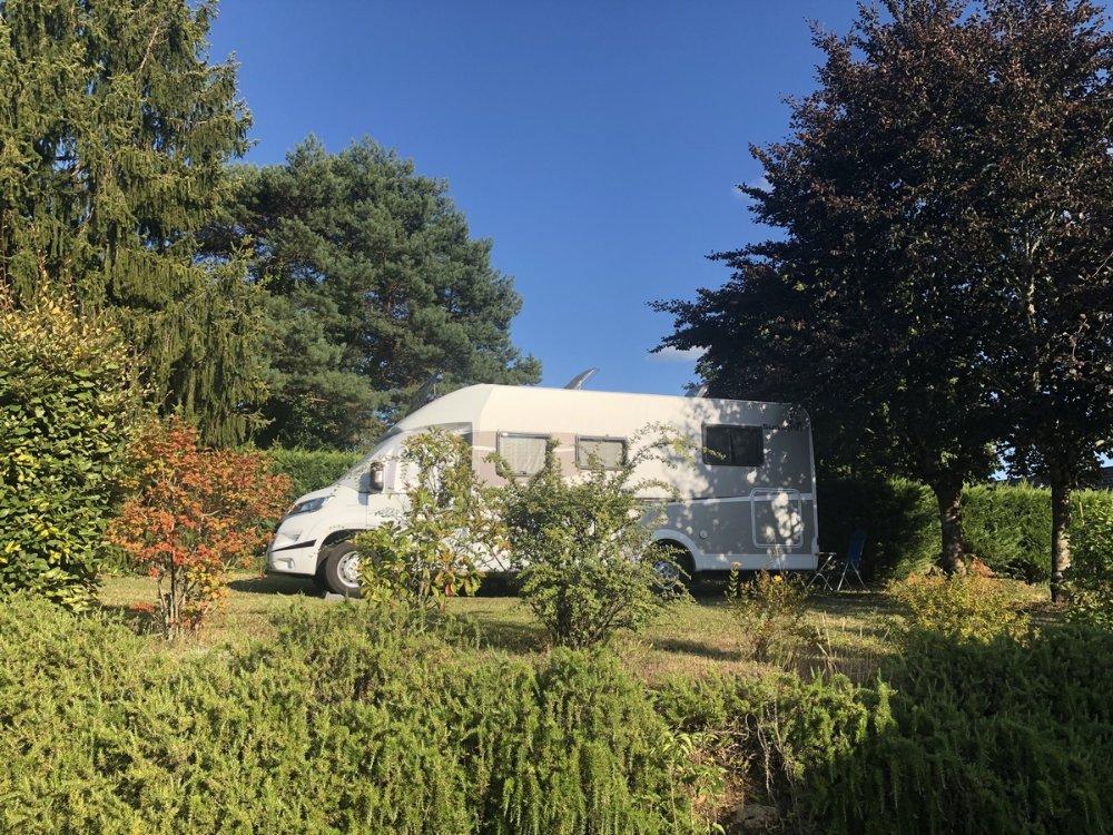 Aire camping-car à Sarlat-la-Canéda (24200) - Photo 1